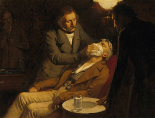 Ether parties and the discovery of anaesthesia