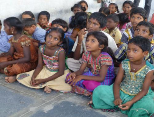 Actie onaanraakbaren in India