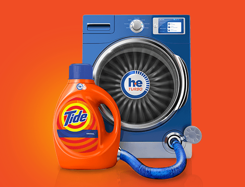 Proctor and Gamble´s Vibrant and Tide with Bleach
