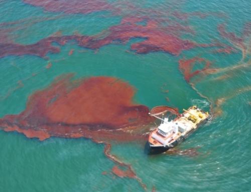 Mislukte schoonmaak Golf van Mexico