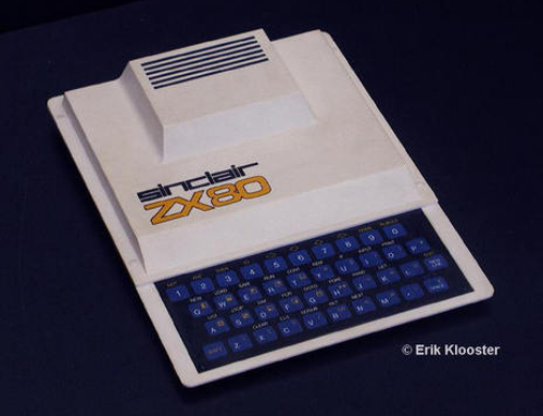Sinclair ZX80, the first affordable home computer