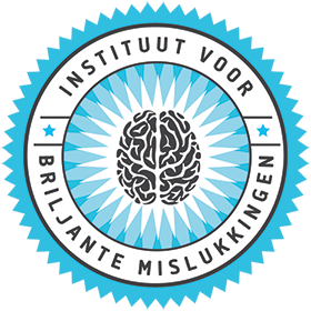 Instituut voor Briljante mislukkingen Logo
