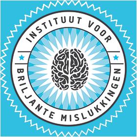 Instituut voor Briljante mislukkingen Logo